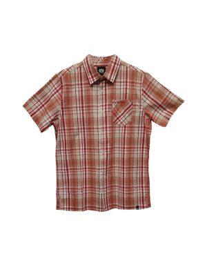 animal cl5sg114 short sleeved shirt rio red mens 5