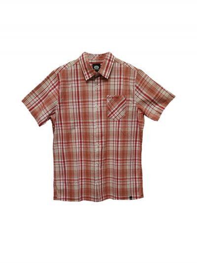 animal cl5sg114 short sleeved shirt rio red mens 5