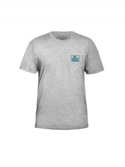 dakine classic t shirt grey mens