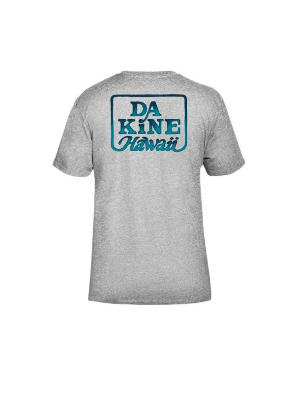 dakine classic t shirt grey mens back