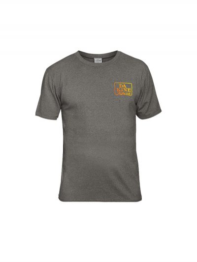 dakine roots t shirt heather grey mens