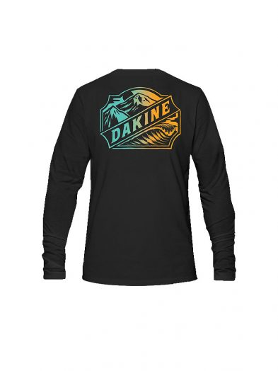 dakine twin peaks long sleeve t shirt black mens back
