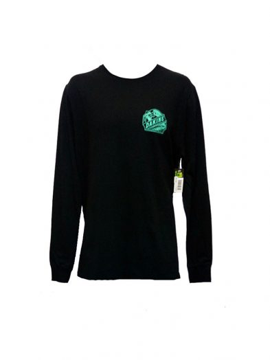 dakine twin peaks long sleeve t shirt black mens 1