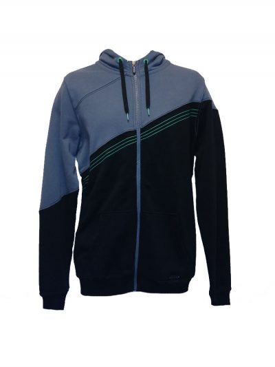 ion coherent kite mania full zip hoody black mens