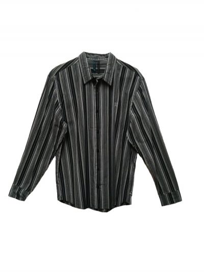 oxbow h9clubby long sleeved shirt black mens
