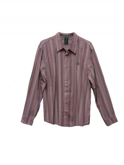 oxbow h9clubby long sleeved shirt lilac mens
