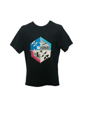 oxbow j1boix t shirt black mens
