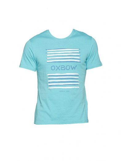 oxbow j1tababe t shirt curacao blue mens