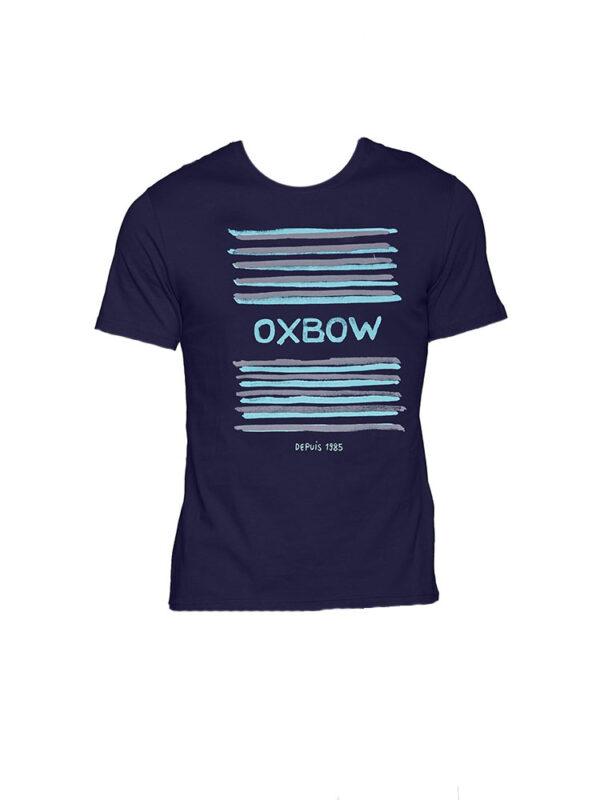 oxbow j1tababe t shirt marine blue mens