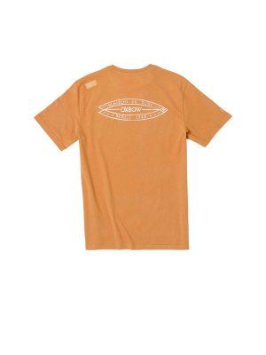 oxbow j1tatinga vee neck t shirt copper mens back