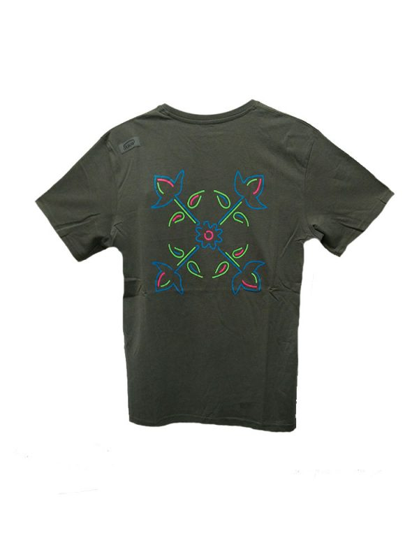 oxbow j1tonola t shirt grey mens back