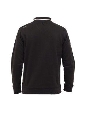 oxbow j2saltcoats fleece black mens 3
