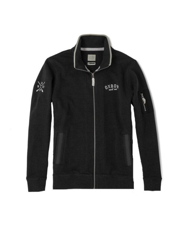 oxbow j2saltcoats fleece black mens 5
