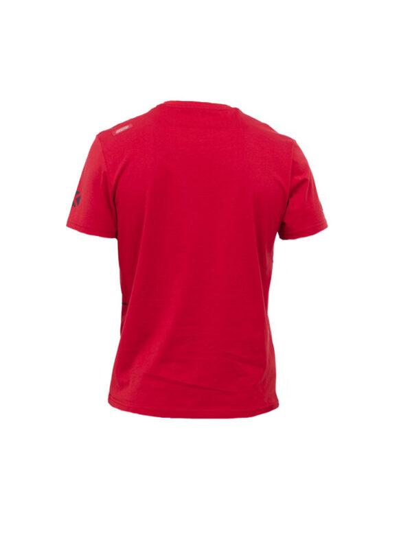 oxbow j2tonaven t shirt red mens back