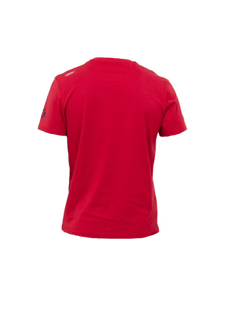 oxbow j2tonaven t shirt red mens andy biggs watersports. Black Bedroom Furniture Sets. Home Design Ideas