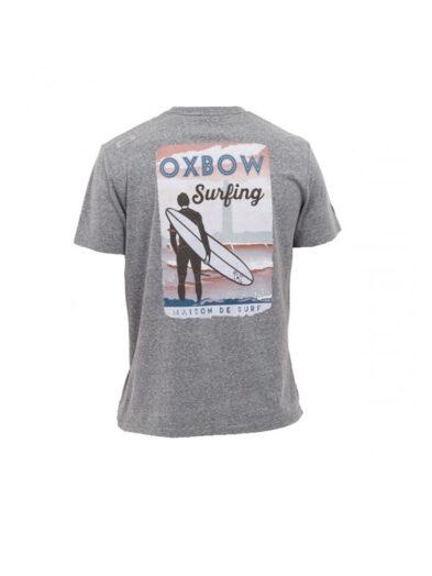 oxbow j2tyland t shirt grey mens back