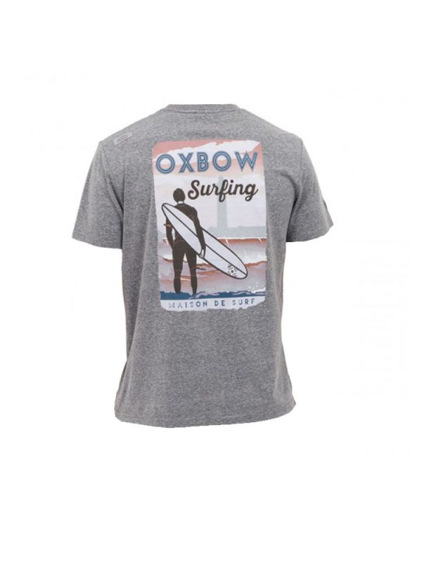 oxbow j2tyland t shirt grey mens back