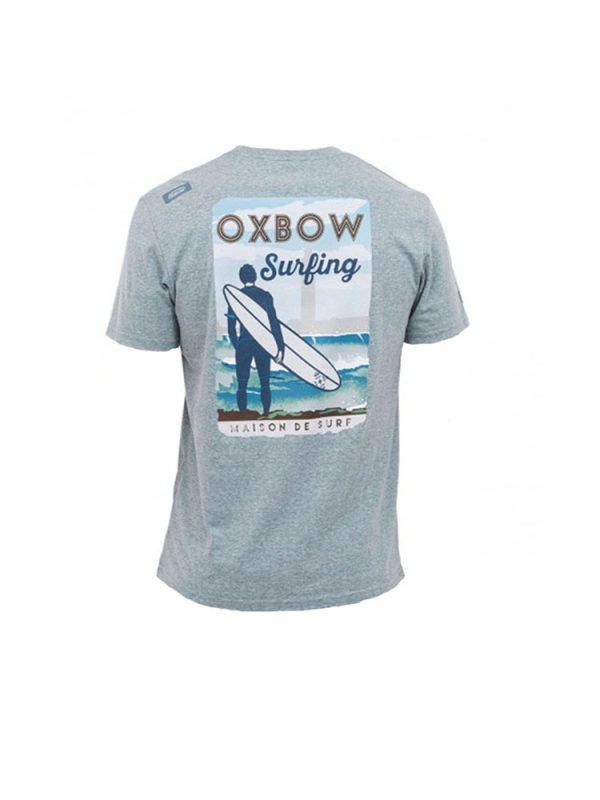 oxbow j2tyland t shirt teal mens back