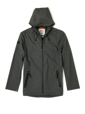 oxbow j2vrainy jacket shadow mens