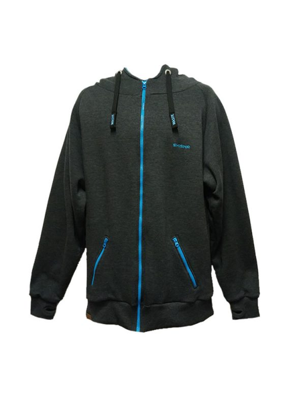 shisha 5w2817 frost full zip hoody anthracite mens