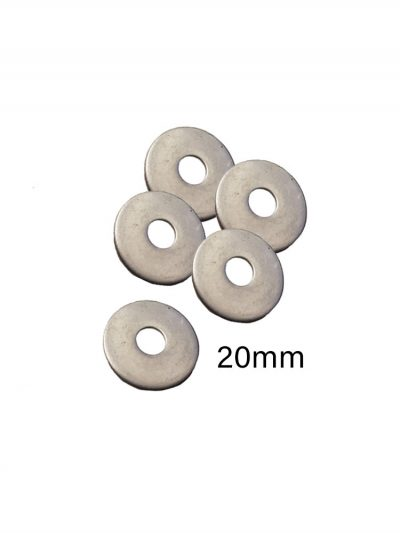 20mm Stainless Metal Washers For Windsurfing Fin bolts