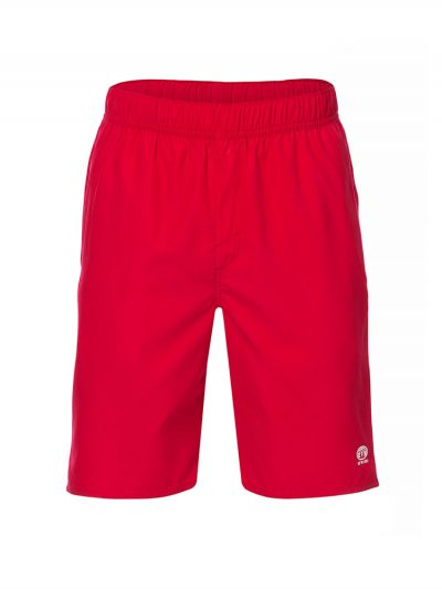 animal cl7sl001-y23 bahima elasticated boardshorts mens crimson red