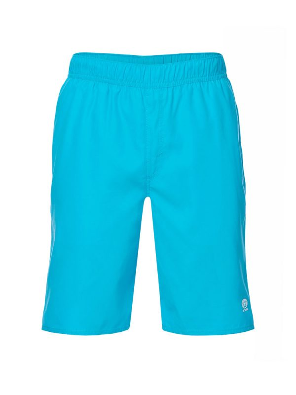 animal cl7sl001-y34 bahima elasticated boardshorts cyan blue mens