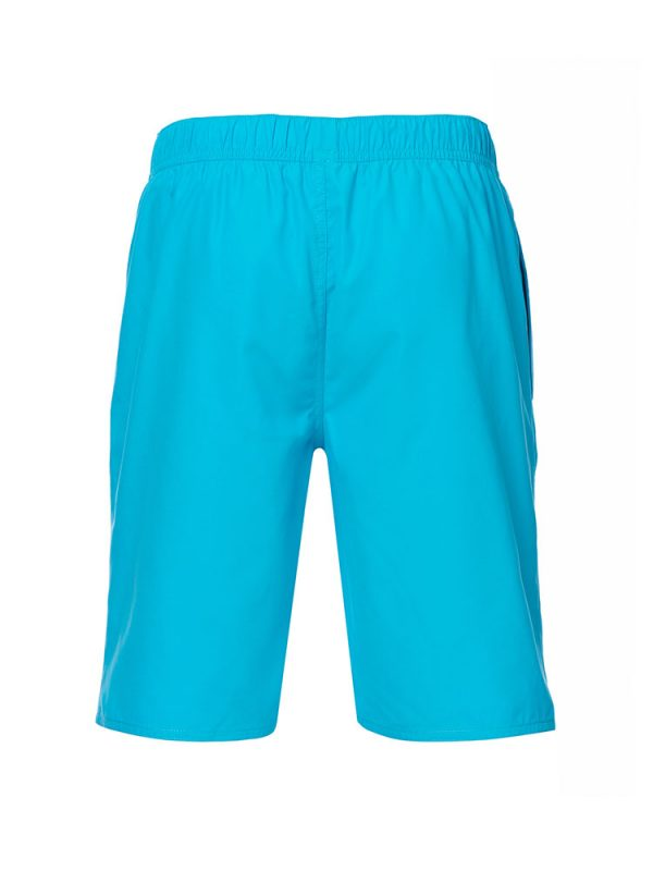 animal cl7sl001-y34 bahima elasticated boardshorts cyan blue mens back