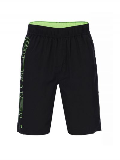 animal cl7sl002 002 belos elasticated boardshorts mens black