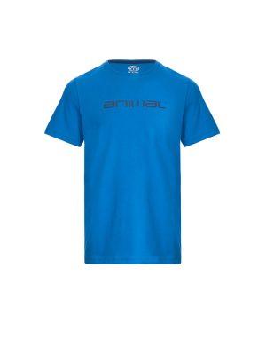 animal cl7wl002 f88 mens tee shirt vallarta blue