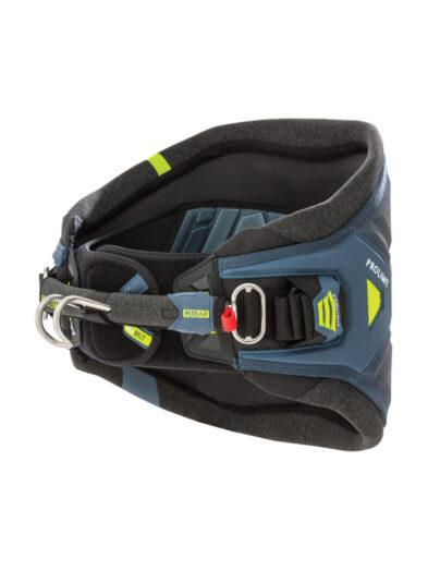 pro limit type t windsurfing harness 2018 blue-yellow