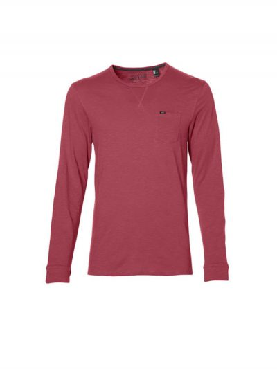 oneill 8a2104 3063 jacks base longsleeve tee shirt holly berry mens