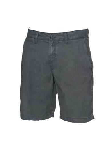 O'Neill Friday Night Chino Shorts Asphalt Front