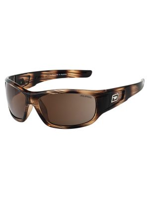 dirty dog sythe l line brown frame brown polarised lens