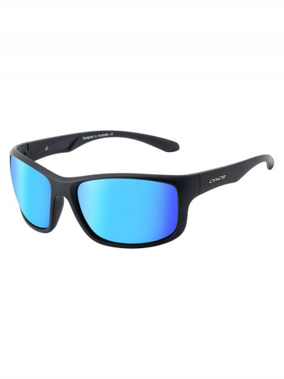 dirty dog 53432 splint satin black frame grey ice blue polarised lens