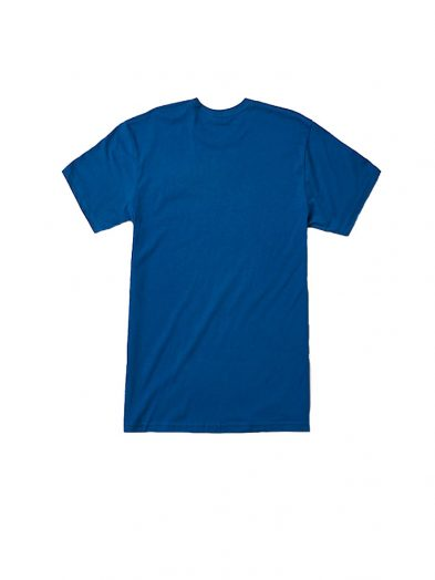 reef expedition tee shirt blue mens back