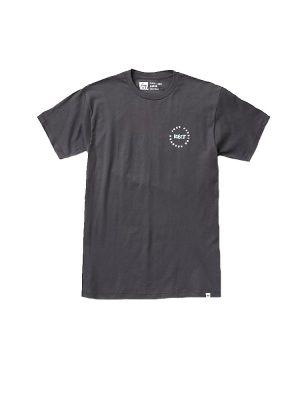 reef ra3f8jfbk more aloha tee shirt faded black mens