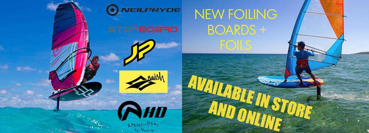 windsurfing foiling foil hydrofoil board