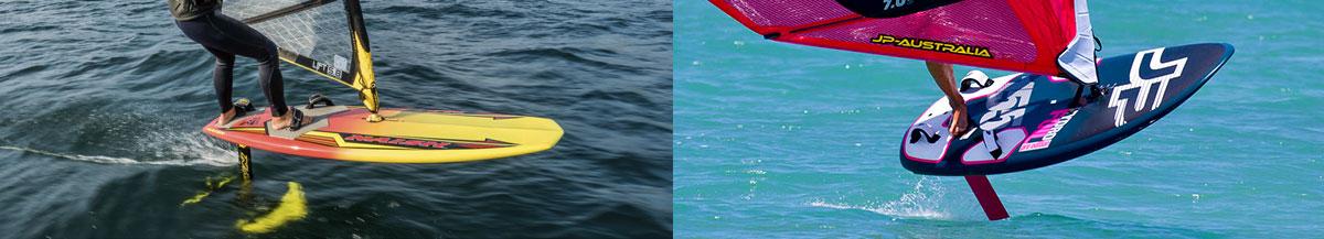 Hyrdo Foiling Windsurfing