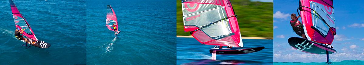 JP Hydro Foiling Windsurfing
