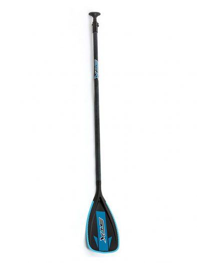 STX 3 part glass composite Sup paddleboard paddle blue