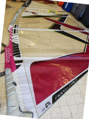 Second Hand North Duke 6.4m 2012 windsurfing sail