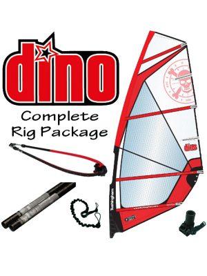 Tushingham Dino Kids Windsurfing Rig Package 3.5m /4.5m
