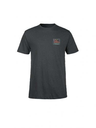 dakine 24 seven short sleeved tee shirt charcoal heather mens