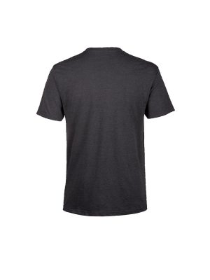 dakine da rail tee shirt heather black mens