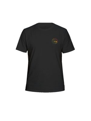 dakine island time short sleeved tee shirt black 2