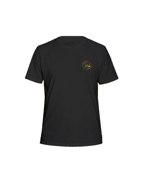 dakine island time short sleeved tee shirt black 2