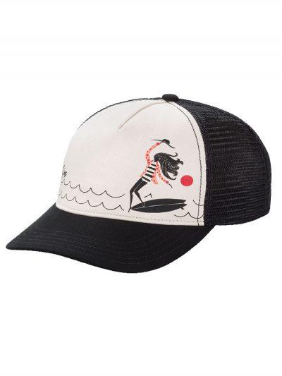 dakine lizzy trucker hat lizzy surfer ladies