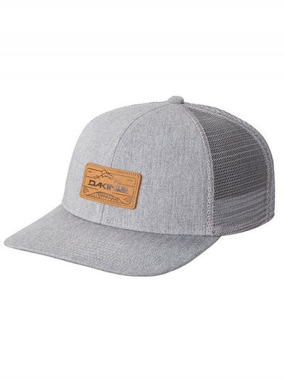 dakine peak to peaktrucker hat heather grey