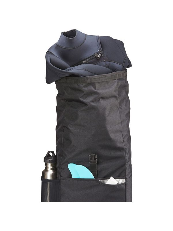 dakine section roll top wet dry 28 litre bag black 3